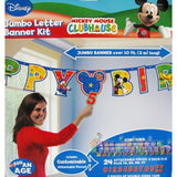 Disney Mickey Mouse Clubhouse Jumbo Letter Banner Kit
