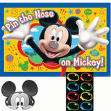 Mickey Mouse Pin The Nose Party Game