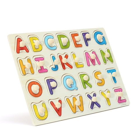 Alphabet Jigsaw Wooden Block
