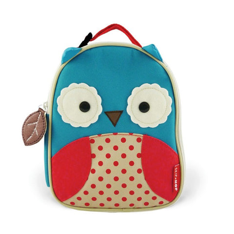 ZOO LUNCHIES INSULATED LUNCH BAG - OWL