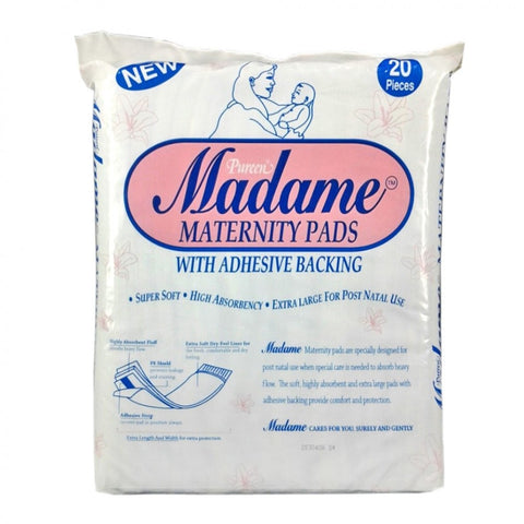 pureen madame maternity pads