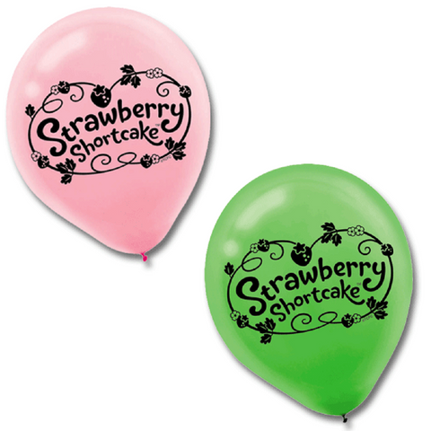 Strawberry Shortcake 6 Balloons 12