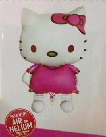 Hello kitty foil ballon shape