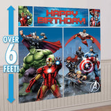 Marvel Avengers Assemble Scene Setter Wall Decorating Kit