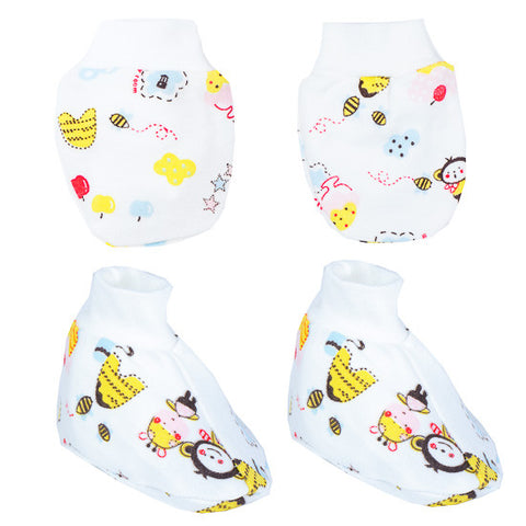 Autumnz - Mitten And Bootie Set (Buzzy Bee)