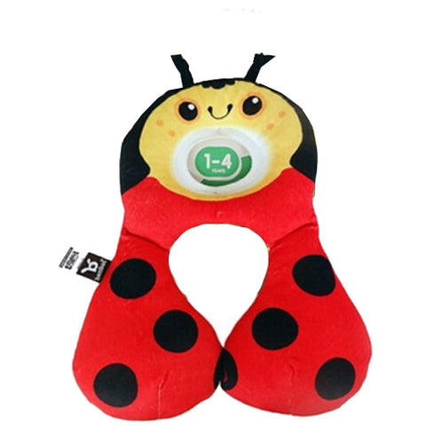 Travel Friends Total Support Headrest - 1-4 yrs - Ladybug