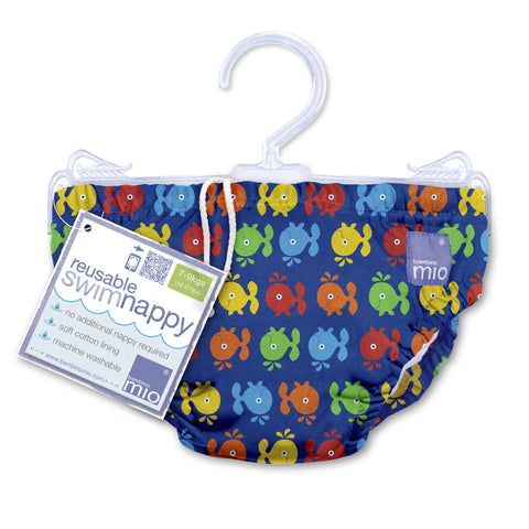 Swim Nappies - Blue Whale