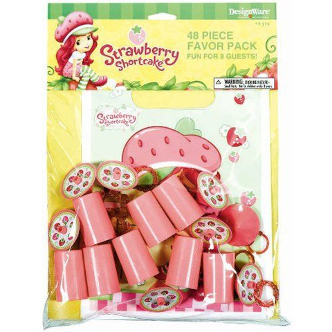 Strawberry Shortcake Party Favor Pack