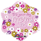 It's Your Day Mom Jr.Shape Foil Balloon