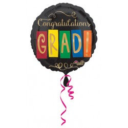 Grad Anagram Balloon
