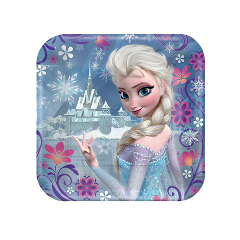 Frozen Paper Party Plates