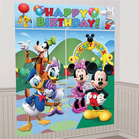 Disney Mickey Mouse Clubhouse Giant Scene Setter Wall Decorating Kit