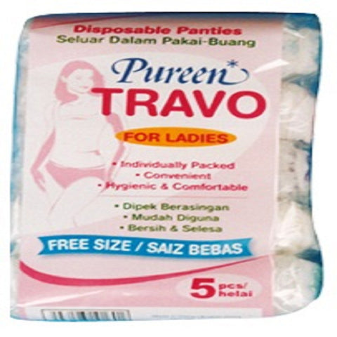 Pureen Travo Disposable Panties For Ladies