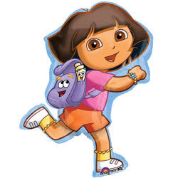 DORA THE EXPLORE SUPERSHAPE FOIL BALLOON