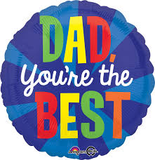 Dad, You're The Best Blast - Father's Day Balloon Anagram