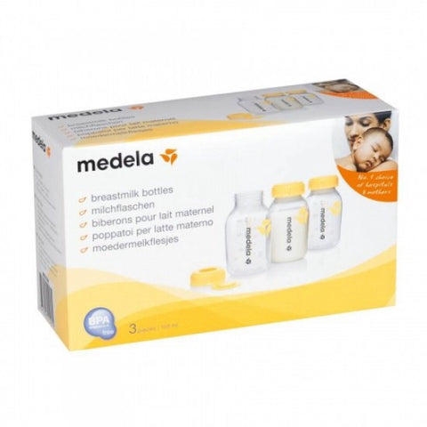 3 pcs Medela Breastmilk Collection and Storage Bottles (150ml)
