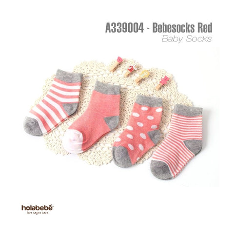 Holabebe - Baby Socks (Orange)