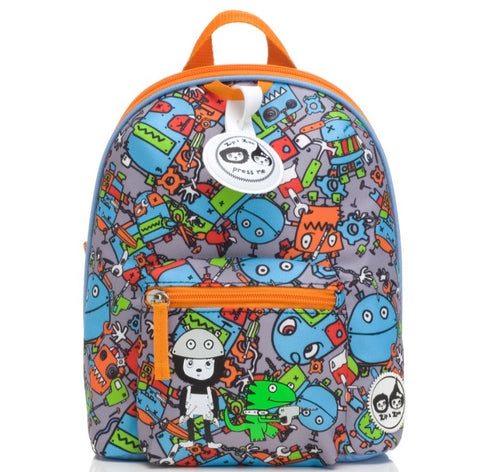 Babymel Zip & Zoe Mini backpack robot blue
