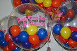 Bubble Balloon with Wording