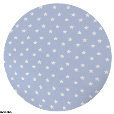 Comfy Baby Pillow Cover Blue Star - Size S