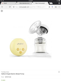 Halford single breastpump