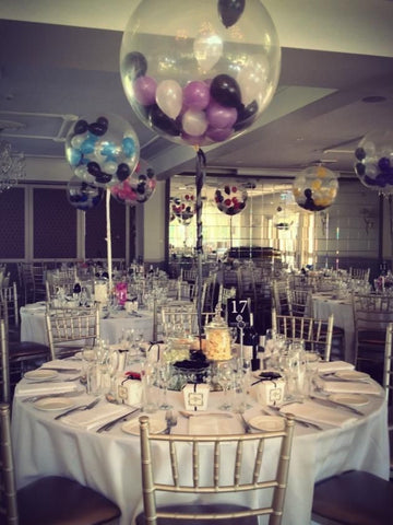 "36"" Giant Clear Balloons with Small Balloons"