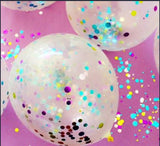Confetti Balloons with Helium