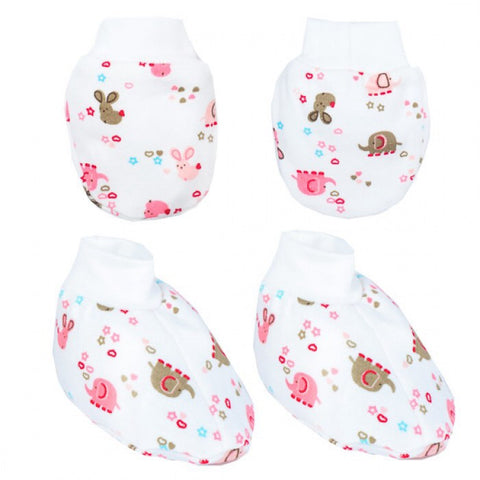 Autumnz - Mitten and Bootie Set - Ellie&Bunny