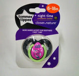 Tommee Tippee Closer to Nature Night Time  Orthodontic Soother
