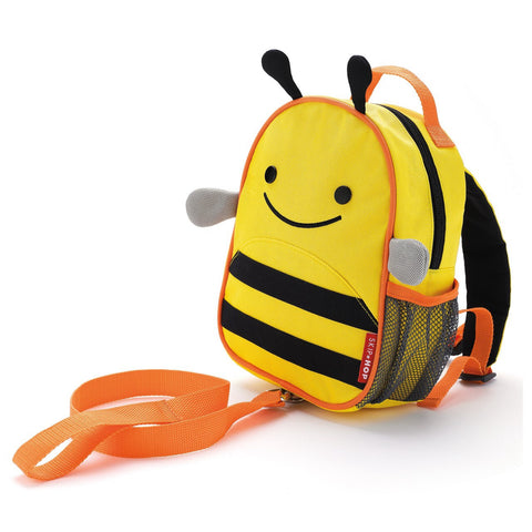 Zoo-Let Mini Backpack with Rein - Bee