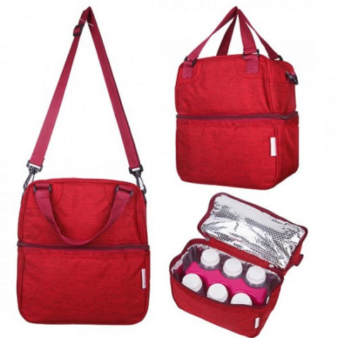 Autumnz - Posh Cooler Bag (Oxford Cherry) *with Free Gift