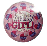 Baby girl Foil baloon 18 inch