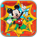 "Mickey Mouse Clubhouse 7"" Square Plates"