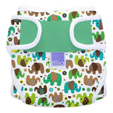 Miosoft Nappy Cover - Size 1 (<9kg) - Elephant Parade