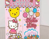 Hello Kitty Giant Scene Setter Wall Decorating Kit