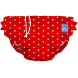 Swim Nappies - Red Polka Dot