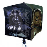 STAR WARS CUBE FOIL BALLOON