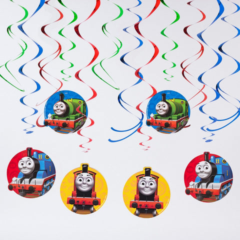 Thomas & Friends Swirl Decorations