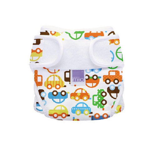 Miosoft Nappy Cover - Size 1 (<9kg) - Traffic Jam