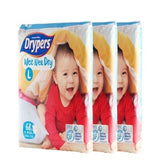 Drypers Wee Wee Dry Size L (68 pieces 9-14kg)