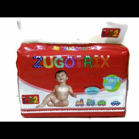 Zugotrix Diapers ( Size M )