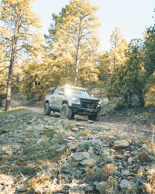 Karah Behrend Indeflate Chevy Colorado Overland Roof Tent MAXTRAX