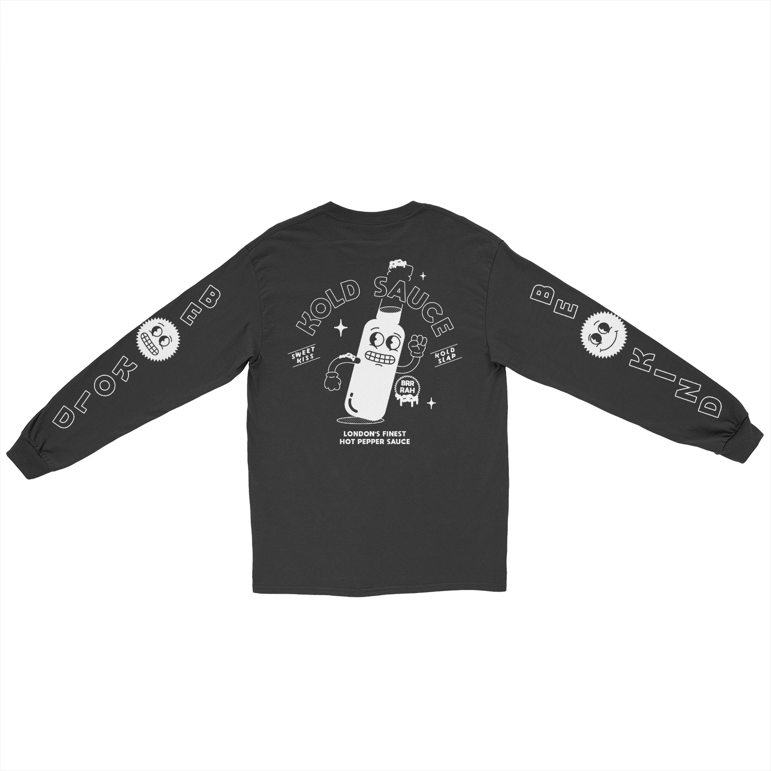 Alive and Kickin' Long Sleeve T-Shirt - Black