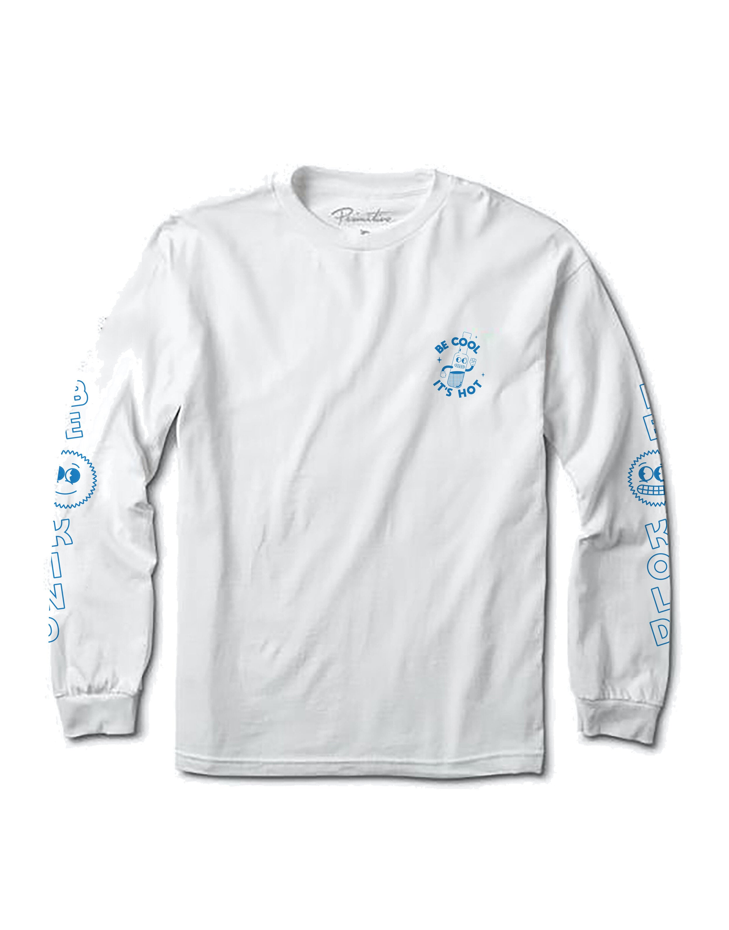Alive and Kickin' Long Sleeve T-Shirt - White