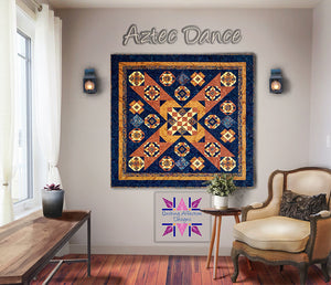 Aztec Dance Block of the Month Full Pattern