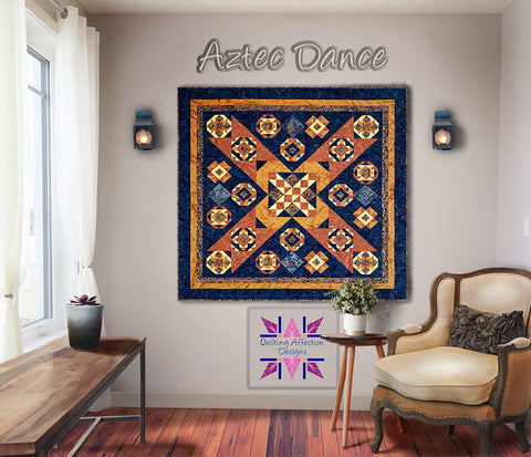 Aztec Dance Block of the Month Full Pattern PDF