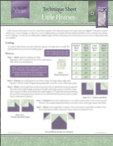 Little Houses Technique Sheet