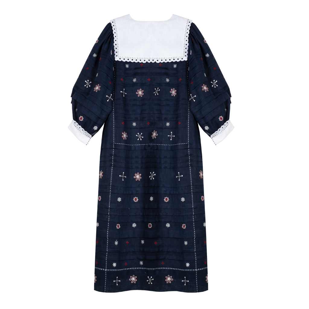 Constellation Pleated Dress