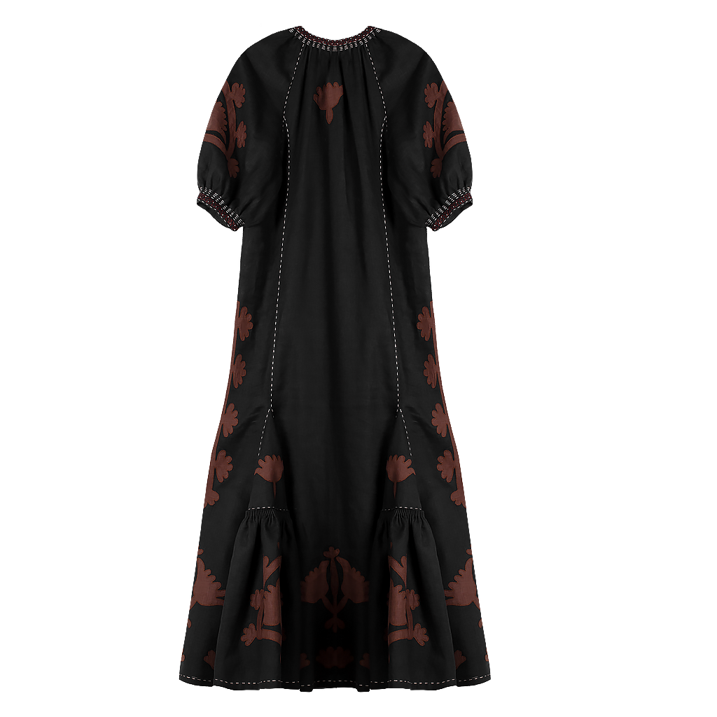 Shalimar Four Panel Dress