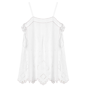 Charlotte Cut-Embroidered Top